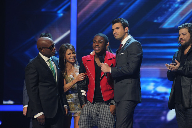 Marcus Canty is eliminated from The X Factor USA