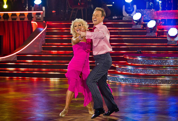 Jason and Kristina perform their Showdance