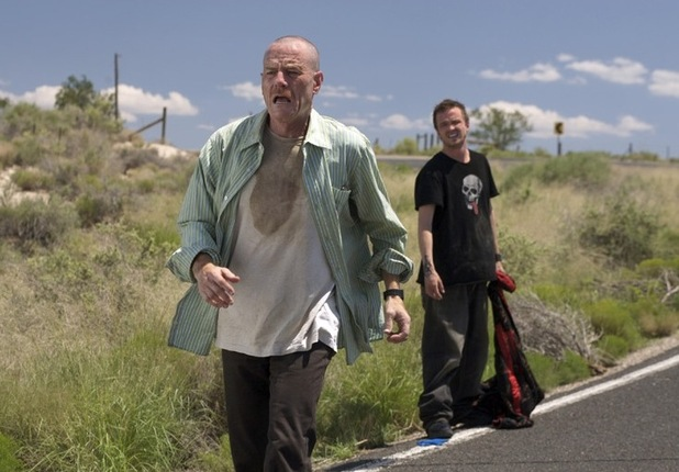 Breaking Bad Walter White, Jessie Pinkman Bryan Cranston, Aaron Paul, ABC