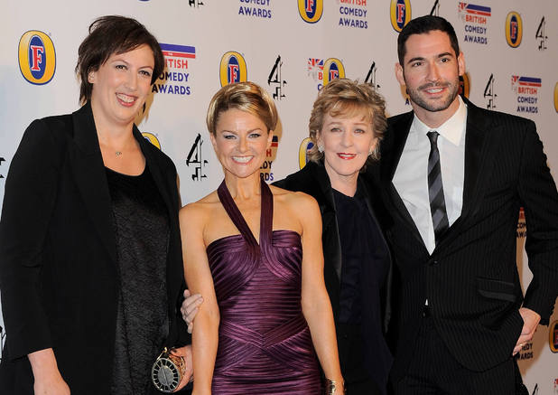 The cast of 'Miranda' at The Comedy Award 2011
