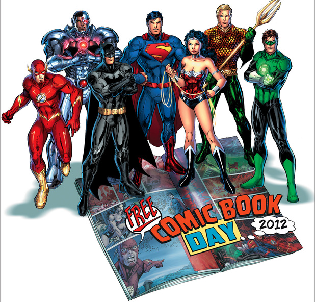 Free Comic Book Day 2012
