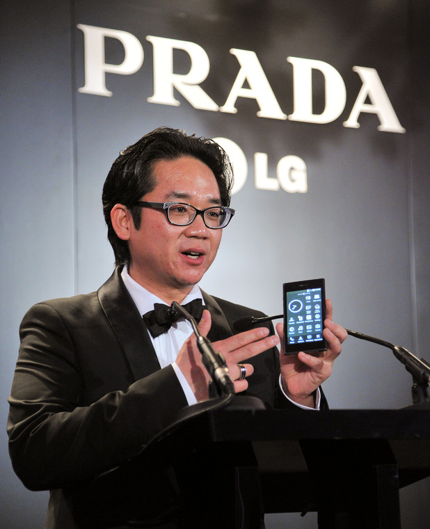 The launch of the new Prada LG smartphone