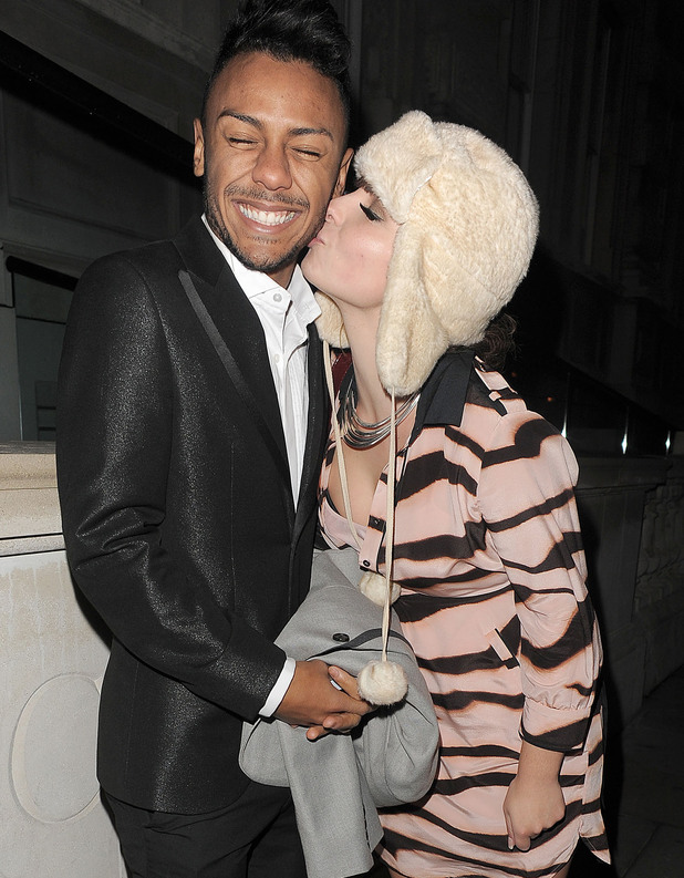 Marcus Collins and Sophie Habibis