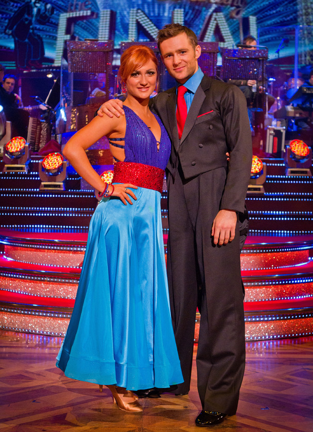 Harry and Aliona get ready to perform their final dances