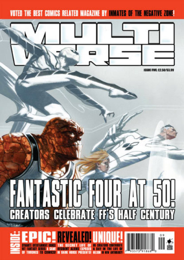 Multiverse magazine cover