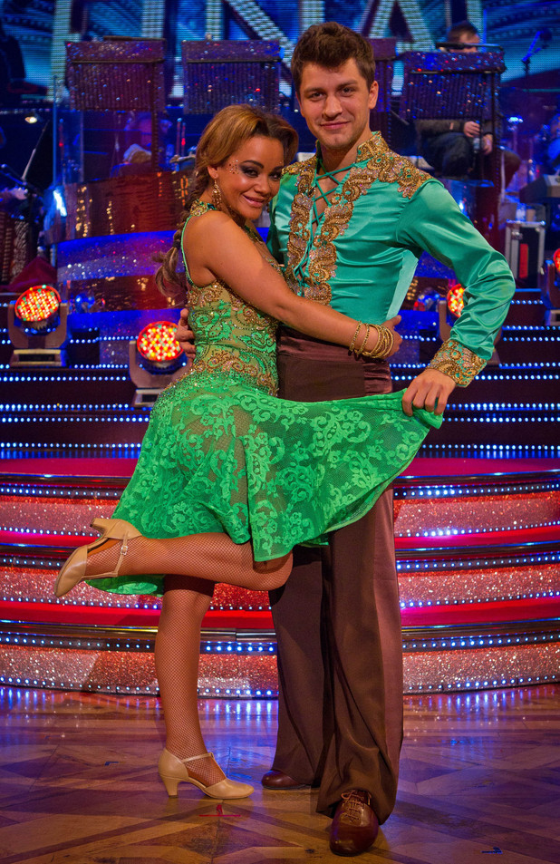 Chelsee and Pasha take to the Blackpool ballroom for the final