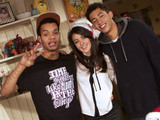 Rizzle Kicks with Karen Hassan (Lynsey Nolan) Hollyoaks
