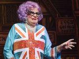 Dame Edna, Dick Whittington pantomime at the New Wimbledon Theatre, London