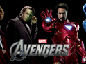 The Avengers debuts new character banners featuring Iron Man and Captain America.