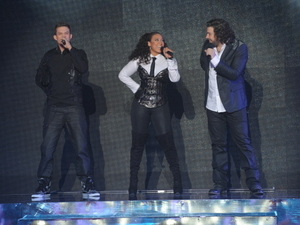 The X Factor USA Final Part 1: Chris Rene, Melanie Amaro and Josh Krajcik perform