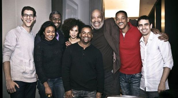 The Fresh Prince of Bel Air cast reunited