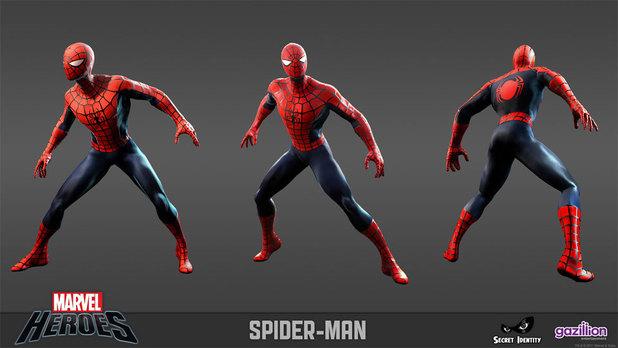 Marvel Heroes gallery