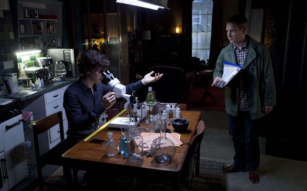 Sherlock Holmes, Martin Freeman, Sherlock, Benedict Cumberbatch, Dr John Watson