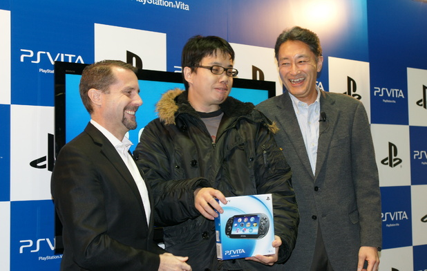 Andy House and Kaz Hirai