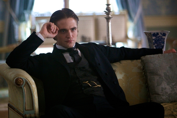 Robert Pattinson as Georges Duroy.