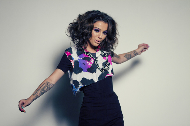 Stills from Cher Lloyd's new music video