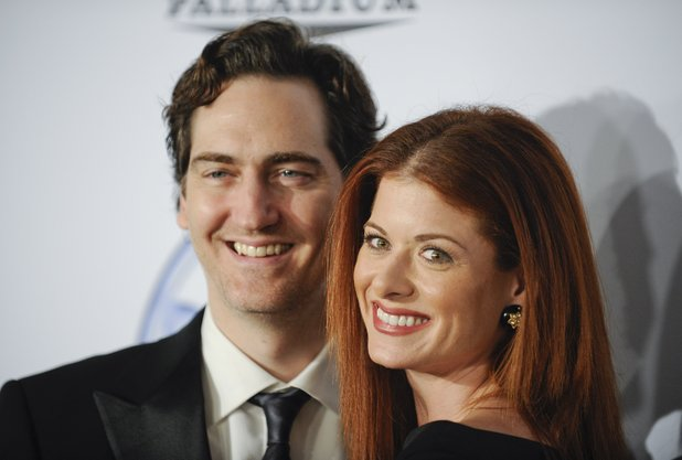 Debra Messing and Daniel Zelman