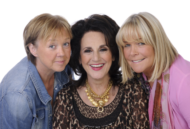 Birds of a Feather Cast: Pauline Quirke, Lesley Joseph and Linda Robson