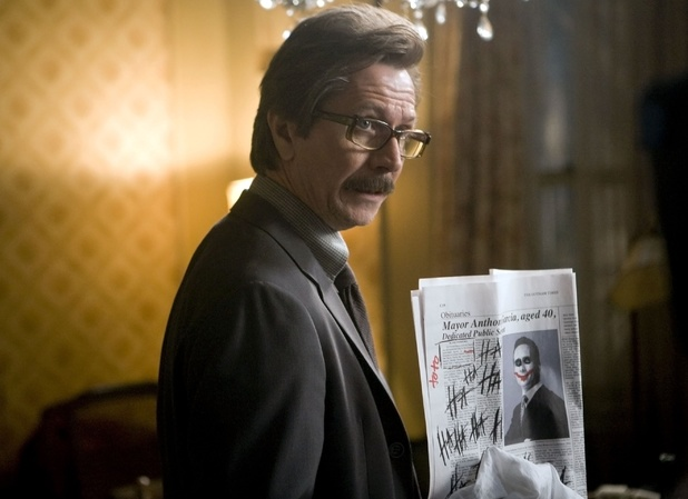 Gary Oldman as Commissioner Gordon in The Dark Knight
