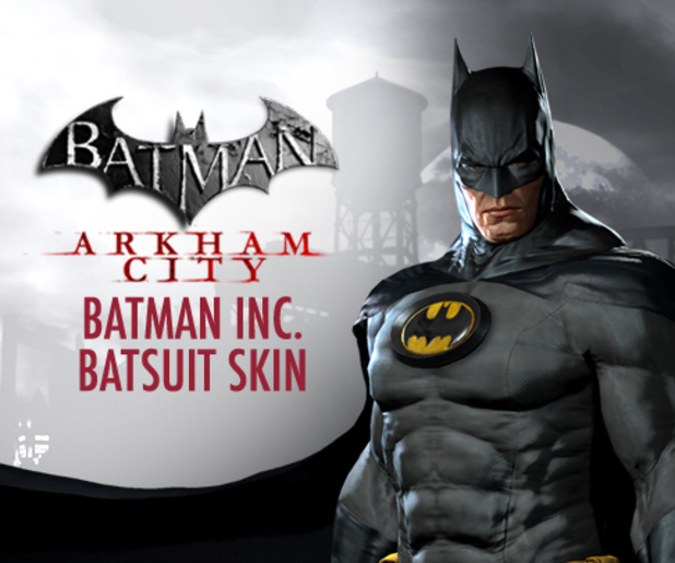 'Batman: Arkham City' Batman Inc costume skin