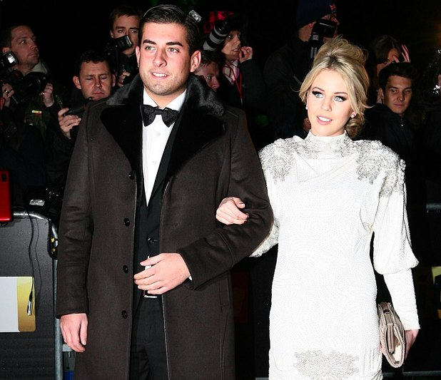 James Argent and Lydia Rose Bright