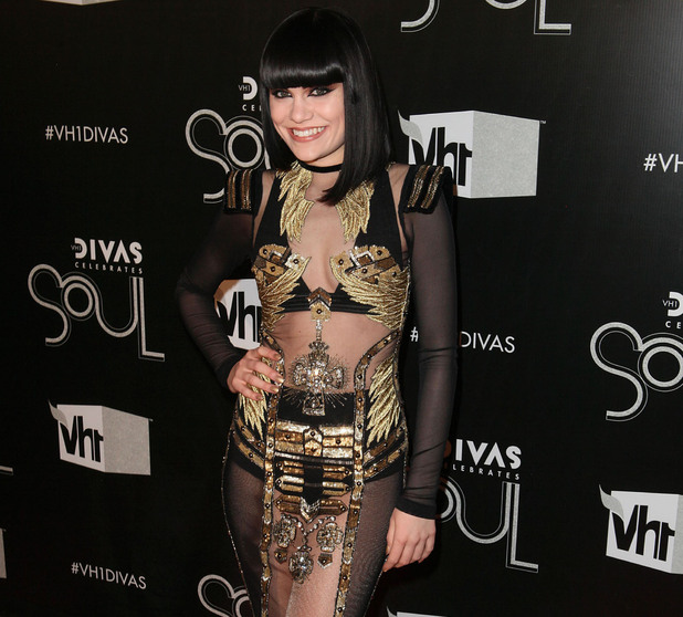 Jessie J, at the VH1 Divas Celebrates Soul at Hammerstein Ballroom - Red Carpet New York City