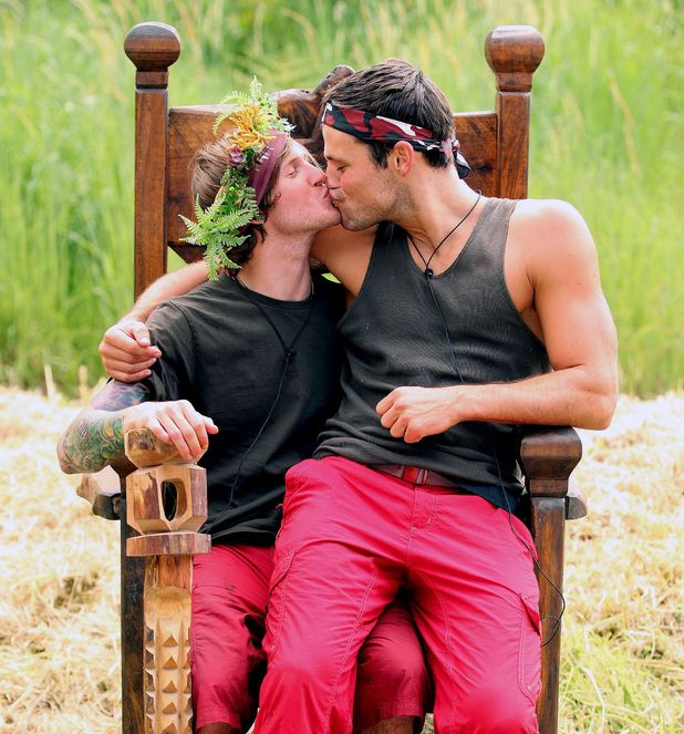 Dougie Poynter, Mark Wright, I'm A Celebrity