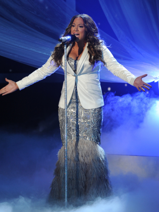 The X Factor USA Final Part 1: Melanie Amaro performs