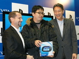PlayStation Vita, Andy House President and CEO of Sony Computer Entertainment, Kaz Hirai, Executive Deputy President of Sony Corporation