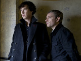 Sherlock Holmes, Dr Watson, Benedict Cumberbatch, Martin Freeman, Sherlock