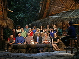Sophie Clarke is crowned the winner during the &#39;Survivor: South Pacific&#39; finale