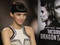 Rooney Mara admits that it is scary to watch herself on film.