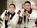 '21 Jump Street' tops the US chart with a $35 million weekend gross.