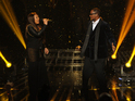 "R. Kelly describes X Factor USA finalist Melanie Amaro as ""a superstar""."