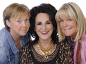 Pauline Quirke, Lesley Joseph and Linda Robson will appear in a special episode.