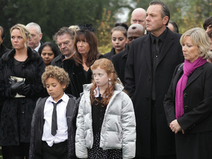 Pat's family say their final farewells