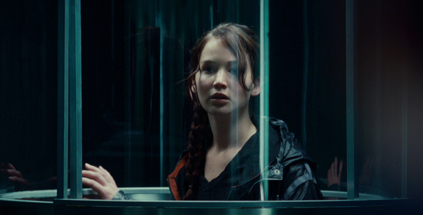 Jennifer Lawrence in 'The Hunger Games'