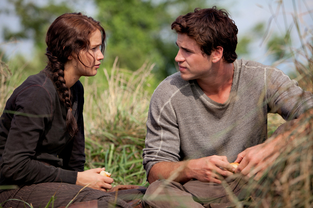 Katniss and Gale Hawthorne