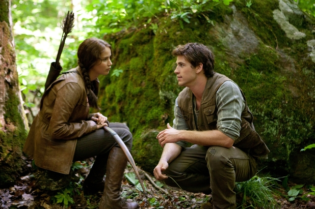 Jennifer Lawrence and Liam Hemsworth in &#39;The Hunger Games&#39;