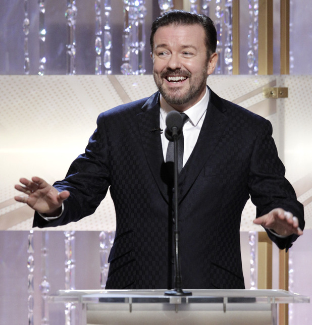 Ricky Gervais gets Golden Globes complaints