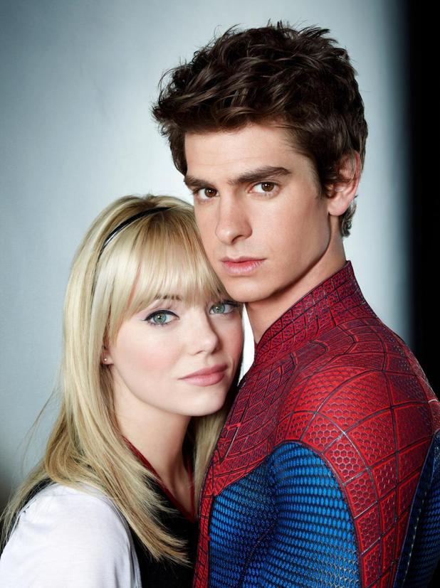 Emma Stone, Andrew Garfield, Gwen Stacy, The Amazing Spider-Man