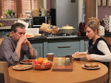 Ashley tries to calm his rage as Laurel insists she will stay and clear up, trying to diffuse the situation between Ashley and Sandy