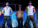 First look at Channing Tatum and Alex Pettyfer in male stripper movie Magic Mike.