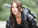 Read our review of Jennifer Lawrence's debut outing as Katniss Everdeen.