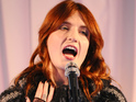 "Florence Welch says she was ""honored"" to perform at London department store."