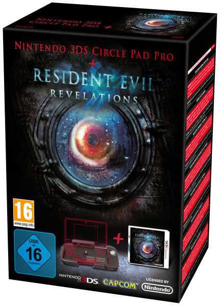 Resident Evil Revelations Circle Pad Pro bundle