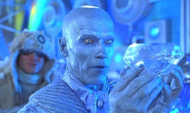 Arnold Schwarzenegger as Mr Freeze in 'Batman & Robin'