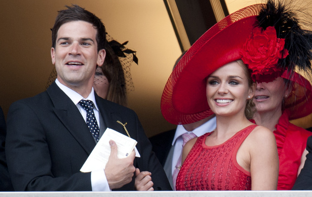 Katherine Jenkins and Gethin Jones, split