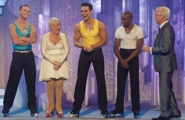 Phillip chats to next weeks contestants; Matthew Wolfenden, Laila Morse, Chico and Sebastien Foucan.