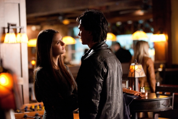 Elena and Damon